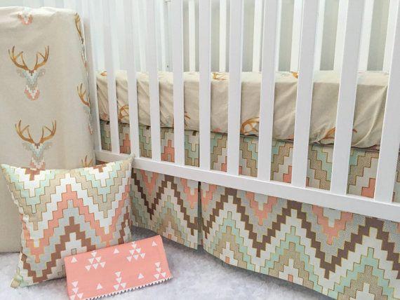 Little Oasis Custom Woodland Nursery Set. by LittleOasisNurseries