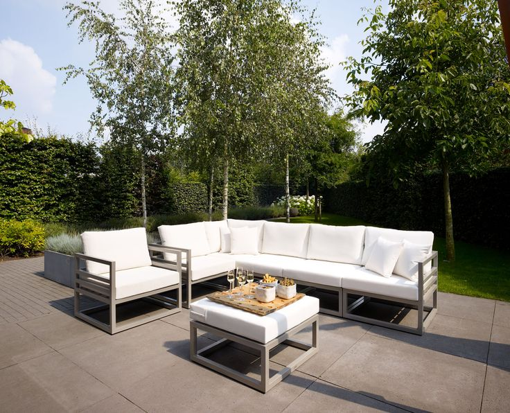FABRI   Modułowy Komplet Wypoczynkowy Aluminiowy Poduchy   Sklep Meble  Ogrodowe Dekkor Z Technorattanu . Garden ChairsGarden FurnitureOutdoor ...
