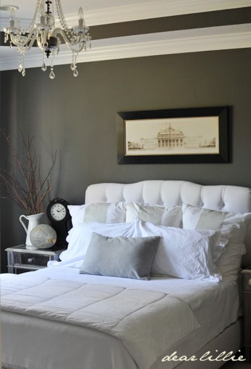 Finding The Perfect Dark Gray Paint Color Shade Pinterest Bedroom Master And Home