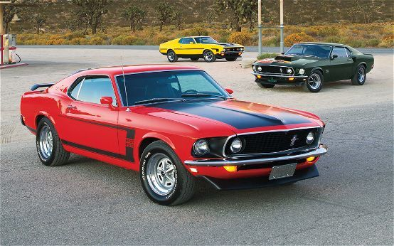 Ford Mustang Boss 302, Boss 429, and Boss 351 The Boss Squad: We Put the Spurs to the Originals   Read more: http://www.motortrend.com/classic/features/1103_ford_mustang_boss_302_429_351/#ixzz3AcCnEO4u
