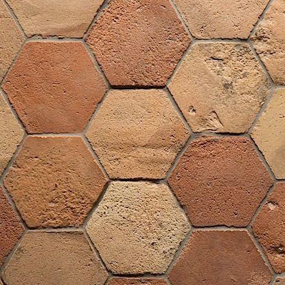 Backsplash Ideas French Terra Cotta Tiles Hexagon By