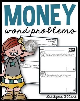 FREE Math Money Word Problems                                                                                                                                                                                 More