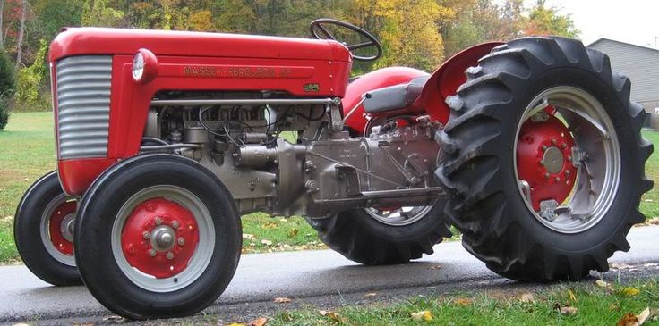 Mf 50 Parts : Best images about old tractors on pinterest