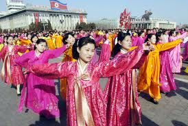 Religion: North Korea is officially an atheist state in which much of the population is nonreligious. North Korea sees organized religious activity as a potential challenge to the leadership.  http://en.wikipedia.org/wiki/Religion_in_North_Korea#Religious_demography