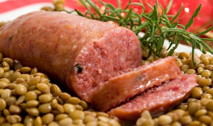 Cotechino con le lenticchie vegano bio