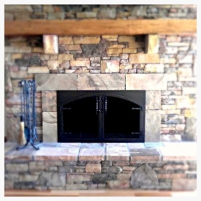 Impressive 50 Arched Glass Fireplace Doors Design Ideas Of