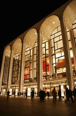Metropolitan Opera House - Lincoln Center, New York City....I will see an opera here someday. That's my dream.