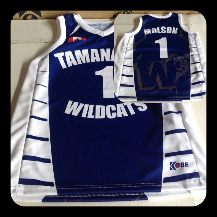 Custom Jersey of the Day! Sublimated basketball jersey!