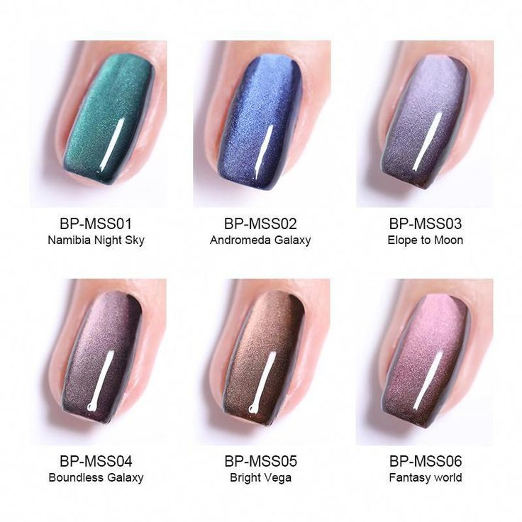 BORN PRETTY 5D Cat Eyes Nail Gel 5ml Magnetic Soak Off UV Gel Lacquers Starry Sky Jade Effect Varnish Black Base Needed #professionalnails