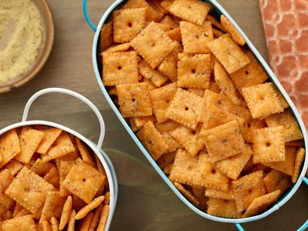 Herbed Cheese-and-Cracker Bits from FoodNetwork.com