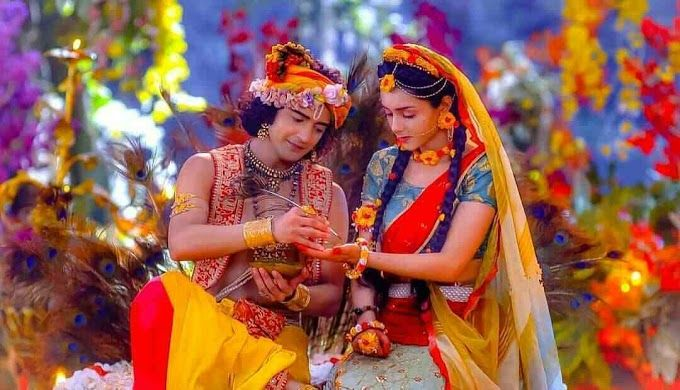 Star Bharat Radha Krishna Hd Images In 2020 Radha Krishna Photo Radha Krishna Pictures Krishna Gif