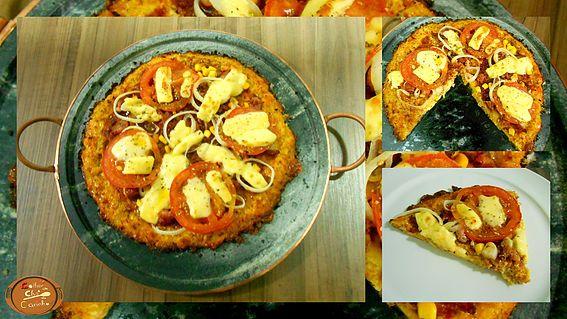 Colher de Chá de Carinho | Pizza sem glúten