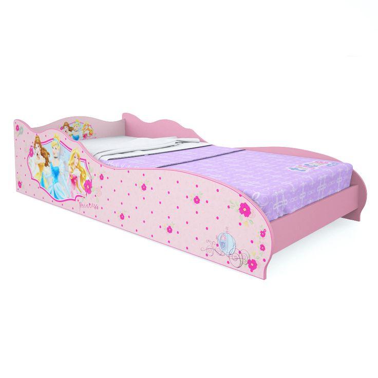 Mini Cama Princesas Disney Rosa Pura Magia [160cm] R$ 360,00