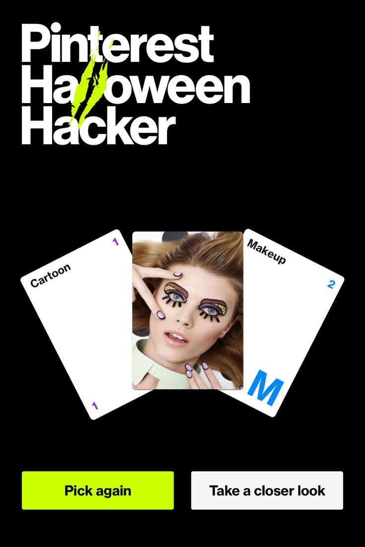 Play a round of #HalloweenHacker to see what ideas we've frankensteined together. Just click through to see what killer idea you land on.