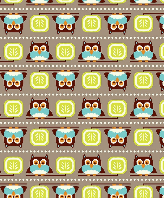 cute fabric design or something for future kiddos room.