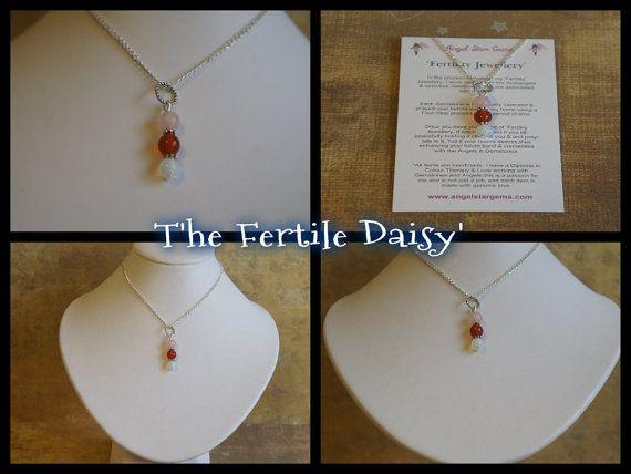 The 'Fertile Daisy' Rose Quartz/Moonstone/ by AngelStarGems, $15.99