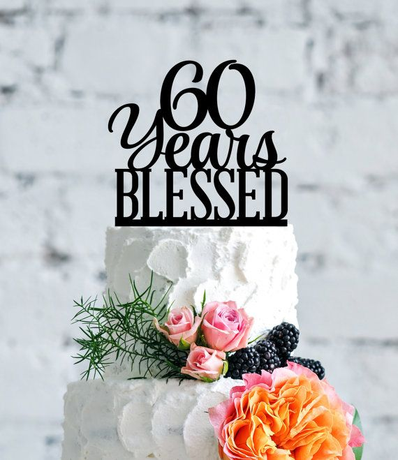 The 25+ Best 60th Anniversary Cakes Ideas On Pinterest