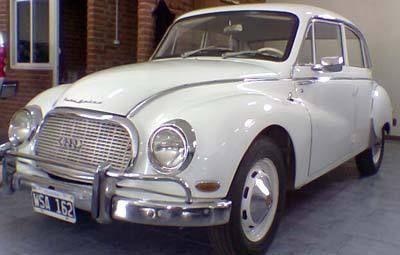 Autos Argentinos: AutoUnion1000 by Industria Automotriz Santa Fe - DKW Auto Union 1000 - 1964