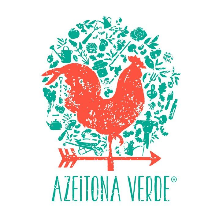 """Azeitona Verde"" Organic Farm in Marvão, PORTUGAL Logo"
