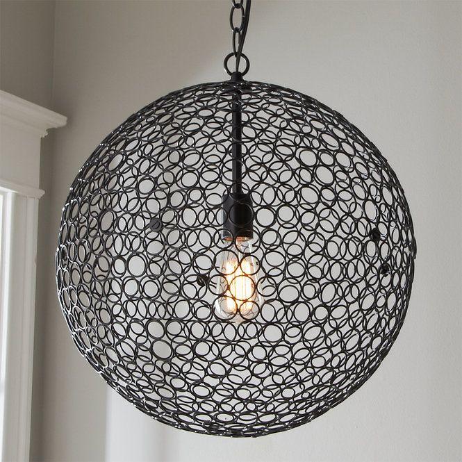 Circles Sphere Pendant Light Large Sphere Pendant Light