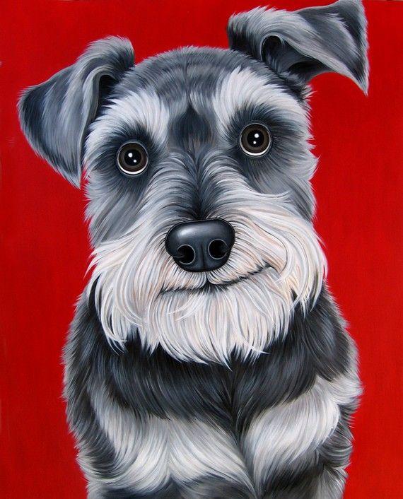 298 Best Schnauzer Clipart Images On Pinterest Dog Art
