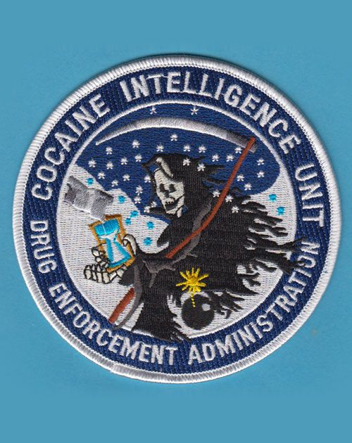 In addition to enforcing U.S. drug control policy, the Drug Enforcement Administration (DEA) also happens to produce all manner of patches -- many of which feature strikingly bizarre designs -- for...