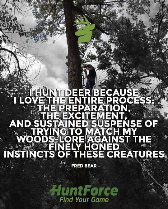 This is so true. I spend more of the year preparing for deer hunting than it seems like I actually spend out hunting but it's totally worth it!!