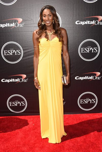 The 2015 ESPYS -  Former WNBA player Lisa Leslie attends The 2015 ESPYS at Microsoft Theater on July 15, 2015 in Los Angeles, California.