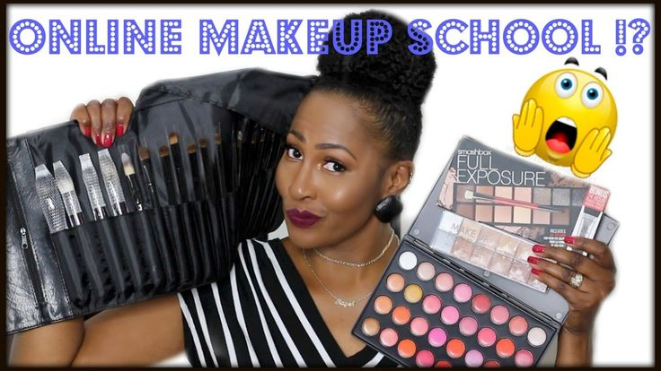 Online Makeup School⎮My Experience⎮Makeup Kit For Beginners