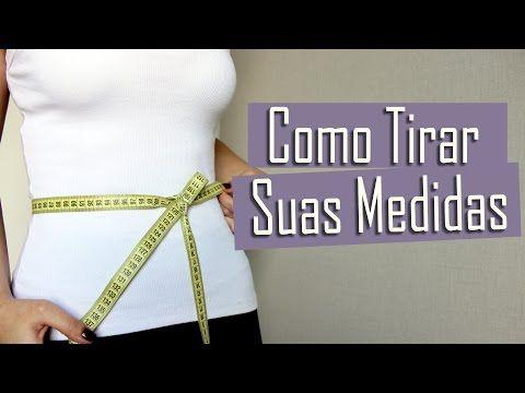 Como Tirar Suas Medidas (modelagem/conferência) - YouTube