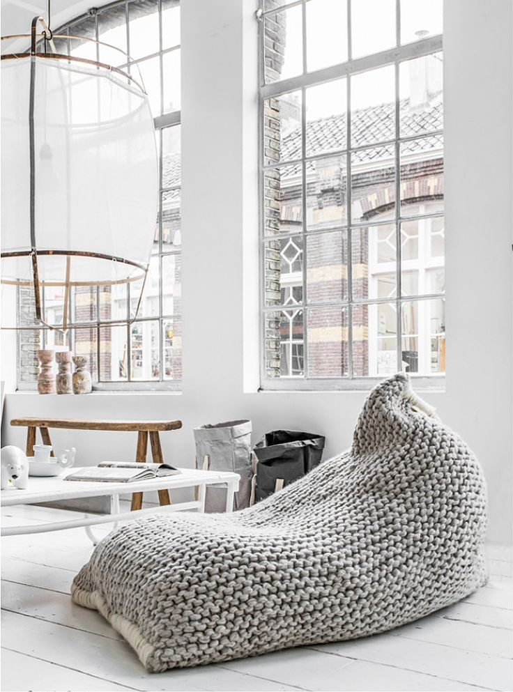 NEST BEAN BAG - Design and form what do you think about this Lunge Chair? could it be part of your living room set? Amazing Living room furniture! For more ideas: http://www.brabbu.com/en/upholstery/ - black and gold shoulder bag, leather bags for ladies, large red clutch bag *ad