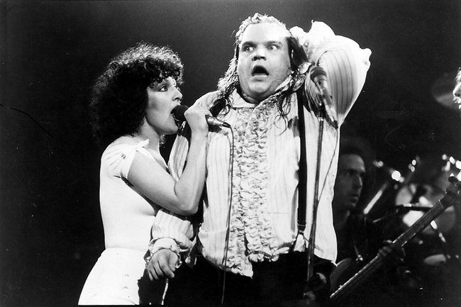 Meat Loaf and Karla DeVito