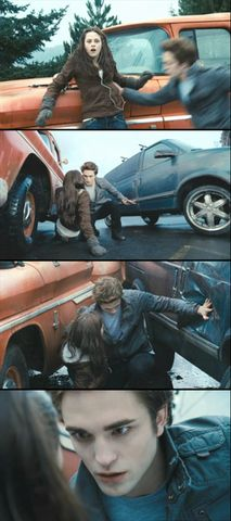 """All I could think was: Not Her."" scene from twilight"