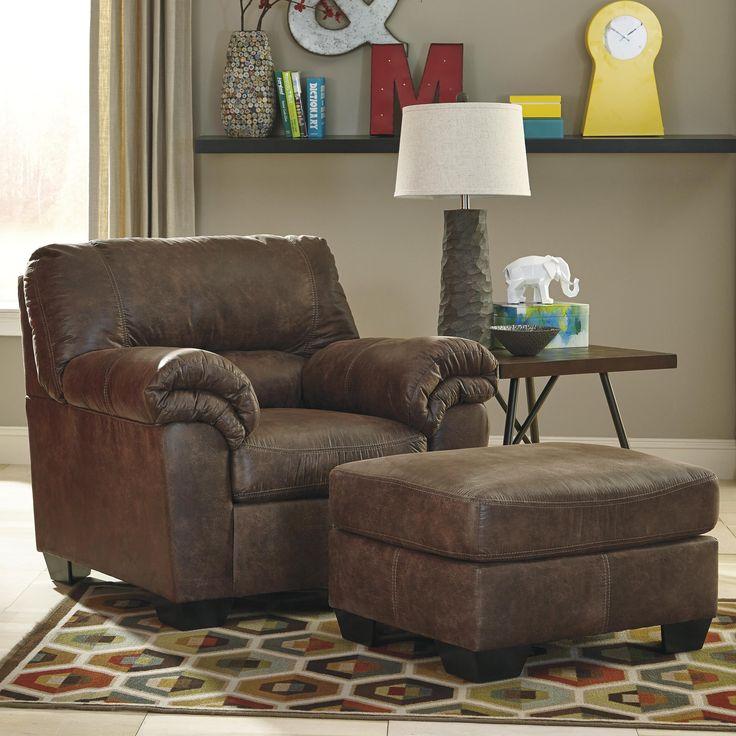 signature design by ashley bladen chair u0026 ottoman item number