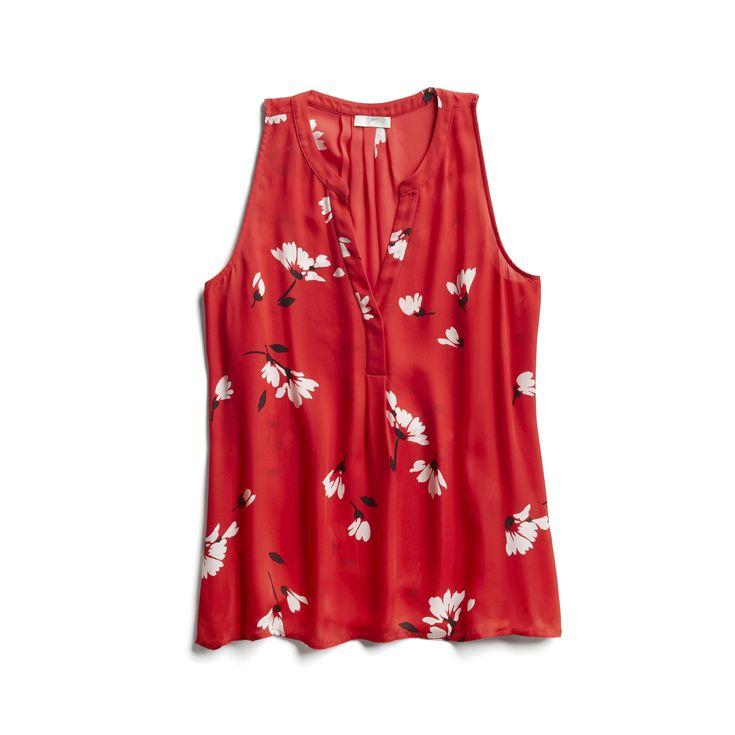 Spring Stylist Picks: Sleeveless floral top