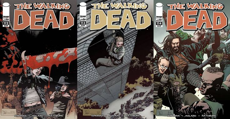 34: TWD Comic Quickie – Issue 112, 113 & 114 of The Walking Dead ...