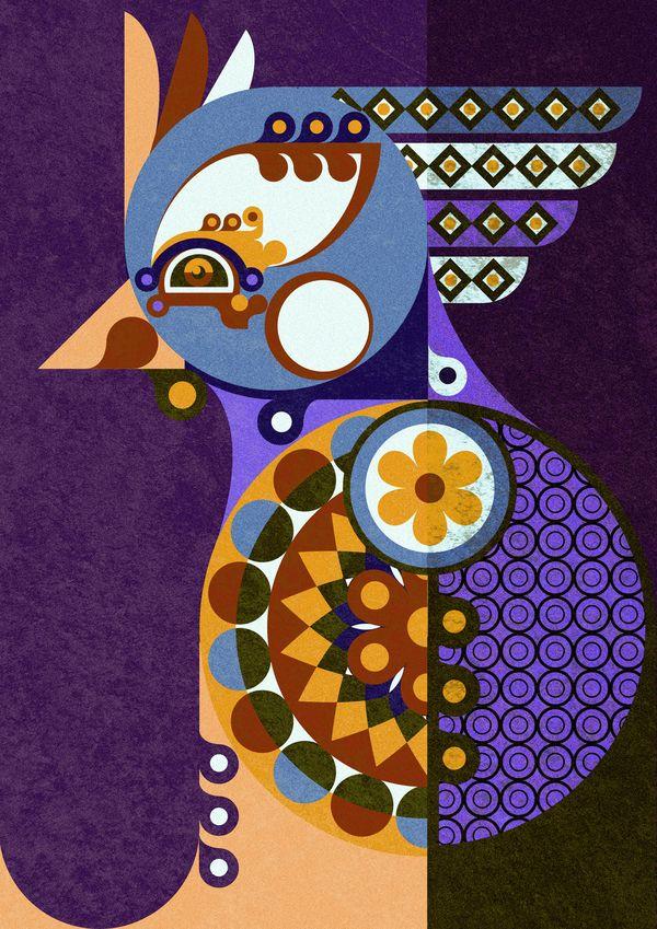 Selected Illustration 2012 by Jonny Wan, via Behance