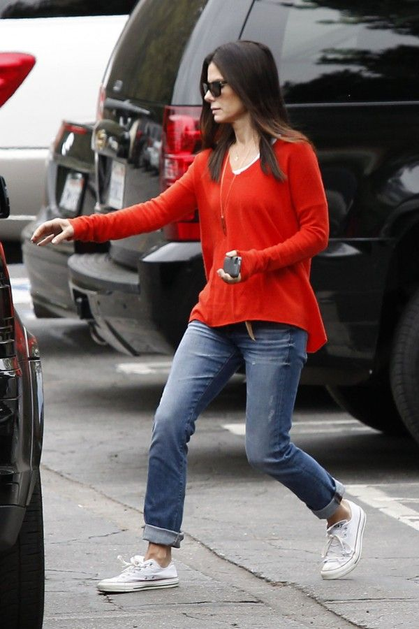 Sandra Bullock Big Star Joey Boyfriend 7 Year Dream e1370362282604 Sandra Bullock in Big Star Joey Boyfriend Jeans in 7 Year Dream