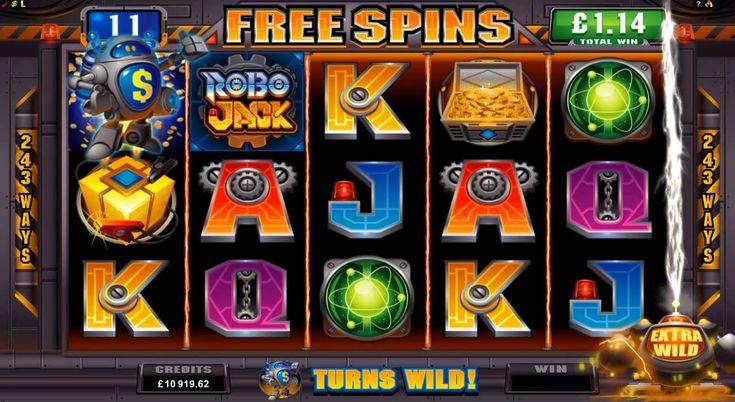 Robo Jack Online Slot at Euro Palace Casino