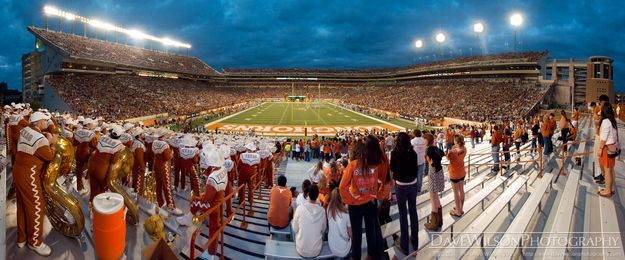 Witness the burnt orange insanity of a University of Texas home football game. | 35 Things Everyone Should Do In Austin, Texas, Before They Die
