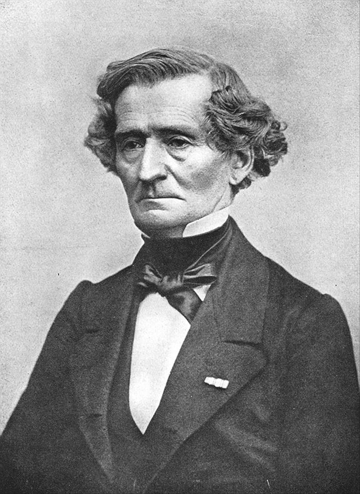 Hector Berlioz (11 December 1803 – 8 March 1869) was a French Romantic composer, best known for his compositions Symphonie fantastique and Grande messe des morts (Requiem). He also composed around 50 songs. His influence was critical for the further development of Romanticism, especially in composers like Richard Wagner, Nikolai Rimsky-Korsakov, Franz Liszt, Richard Strauss, Gustav Mahler et al.