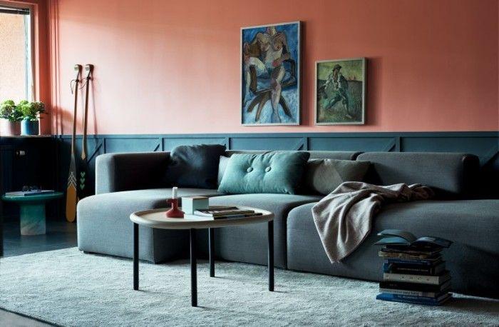 At-home Daniel-Heckscher Daring color combinations
