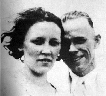 John Dillinger And Billie Frechette .