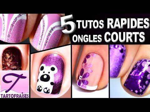 [Ongles Courts] 5 tutos nail art faciles au vernis pour débutants