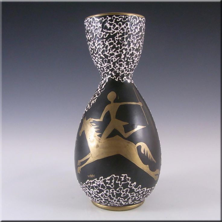 Maric Deruta Italian Ceramic Pottery Vase #253 - Marked - £15.00