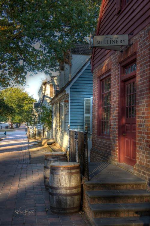 Millinery Colonial Williamsburg Virginia | Karen Jorstad Photography