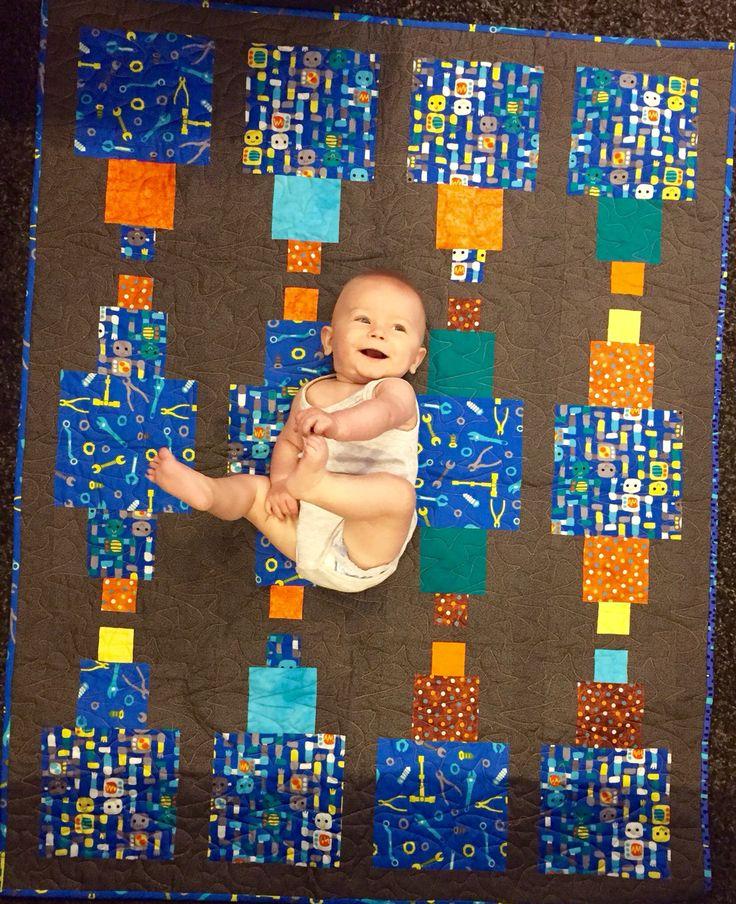 Baby quilt for one of Mattsa's friends..
