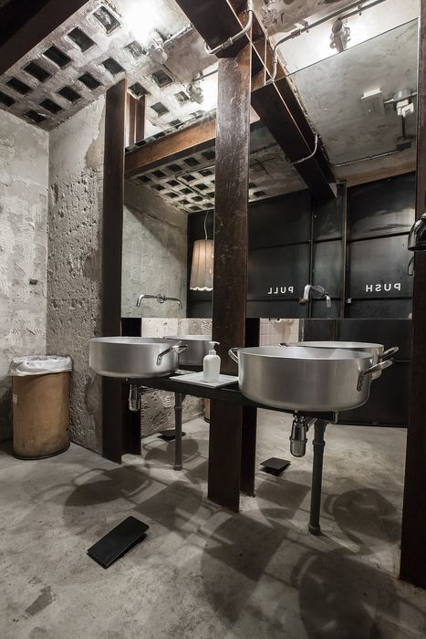 Exposed Concrete Walls Ideas Inspiration: La Menagere (Florence, Italy), Q-bic. Exposed Concrete