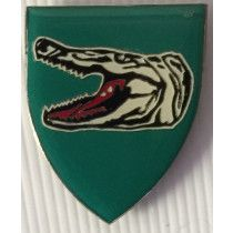 SOUTH AFRICA (SADF) LEBOMBO COMMANDO METAL SHOULDER BADGE