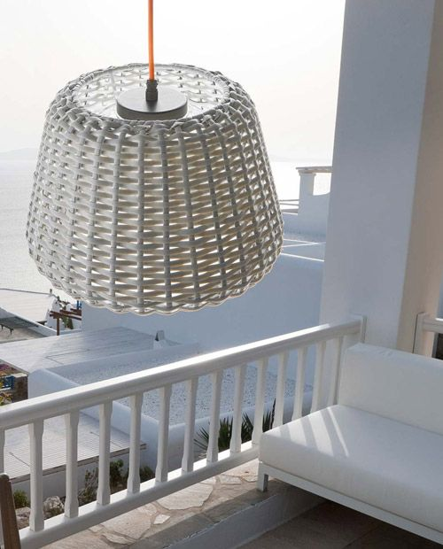 Ralph pendant for outdoor by Panzeri.
